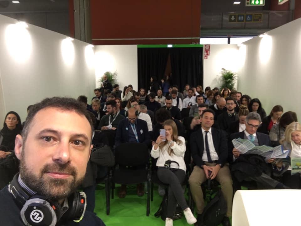 bruno strati a BITA milano febbraio 2020