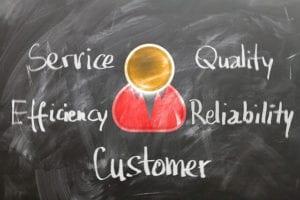 cloud di termini sul tema fidelizzazione cliente