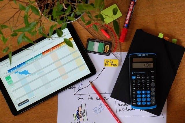 calcolatrice e dati utili per la gestione dei ricavi