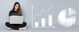 revenue manager elabora grafici e statistiche per la strategia di pricing alberghiero